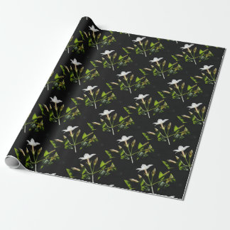Close Up Of Jasminum Officinale Wrapping Paper