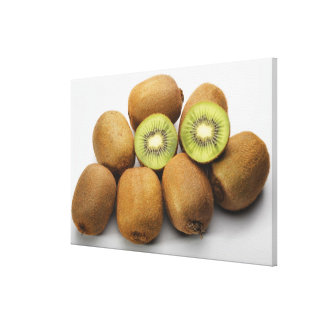 Close-up of kiwi fruits 2 gallery wrapped canvas