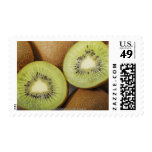 Close-up of kiwi fruits 2 stamps