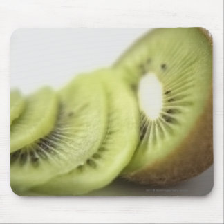 Close-up of kiwi slices mouse pad
