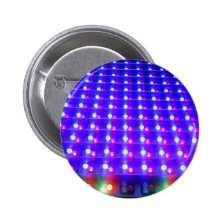 Close Up of LED Lights 2 Inch Round Button