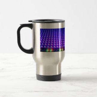Close Up of LED Lights Mug