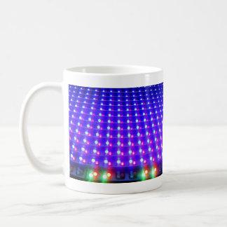 Close Up of LED Lights Mugs