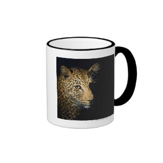 Close up of Leopard, Greater Kruger National Ringer Coffee Mug