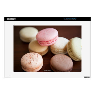 """Close up of Macaroons Decal For 15"""" Laptop"""