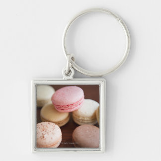 Close up of Macaroons Key Chain