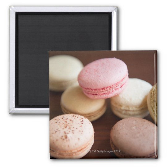 Close up of Macaroons Magnet