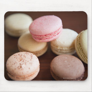 Close up of Macaroons Mouse Pad