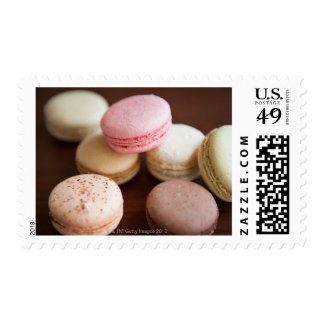 Close up of Macaroons Postage
