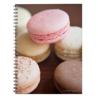 Close up of Macaroons Spiral Notebook