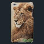 "Close-up of male Lion iPod Touch Case-Mate Case<br><div class=""desc"">Adam Jones / DanitaDelimont.com   Nature,  Fauna   Close-up of male Lion (Panthera Leo)</div>"