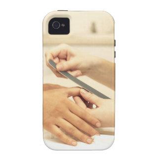 Close up of manicure Case-Mate iPhone 4 cover