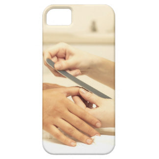 Close up of manicure iPhone 5 cases