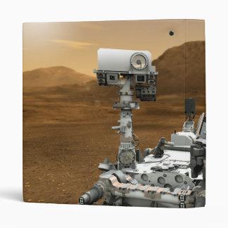 Close-up of Mars Curiosity Rover Binder