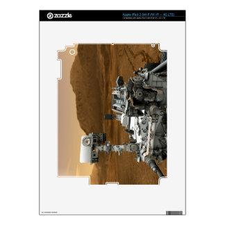 Close-up of Mars Curiosity Rover iPad 3 Decal