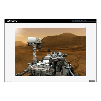 Close-up of Mars Curiosity Rover Laptop Skin