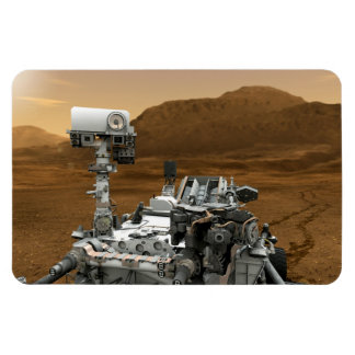 Close-up of Mars Curiosity Rover Flexible Magnet