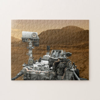 Close-up of Mars Curiosity Rover Jigsaw Puzzles