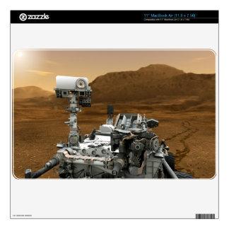 "Close-up of Mars Curiosity Rover 11"" MacBook Air Decal"