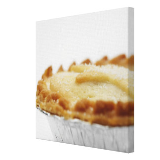 Close-up of mince pie canvas print