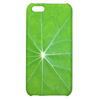 Close up of Nasturtium leaves face-on Cover For iPhone 5C