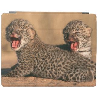 Close-Up Of New Born Leopard (Panthera Pardus) iPad Cover