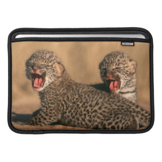 Close-Up Of New Born Leopard (Panthera Pardus) MacBook Sleeve