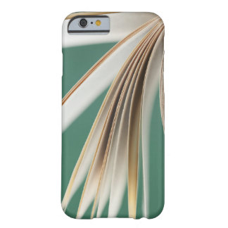 Close-up of open book, studio shot barely there iPhone 6 case