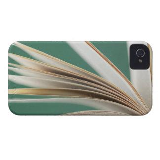 Close-up of open book, studio shot iPhone 4 case