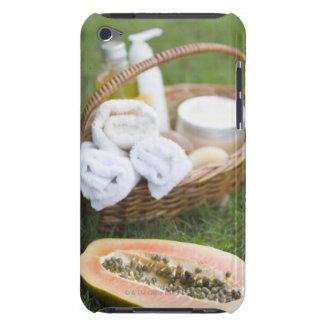 Close-up of papaya massage therapy treatment barely there iPod case