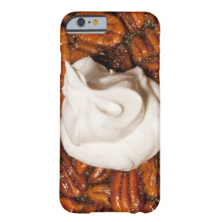 close up of pecan pie with whipped cream barely there iPhone 6 case