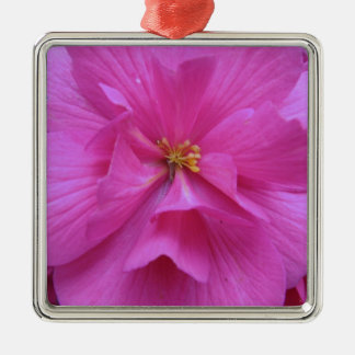 Close up of Pink Flower Metal Ornament