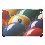 Close Up of Pool Balls Cover For The iPad Mini