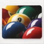 Close Up of Pool Balls Mousepad