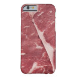 Close-up of raw steak barely there iPhone 6 case