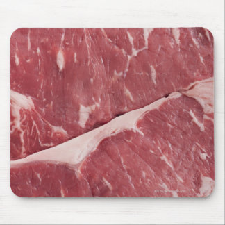 Close-up of raw steak mouse pad
