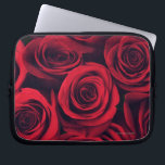 "Close up of red rose flowers. laptop sleeve<br><div class=""desc"">AssetID: 114514567 / Jon Schulte / Close up of red rose flowers.</div>"
