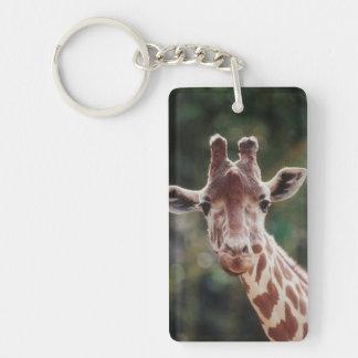 Close up of Reticulated Giraffe Keychain