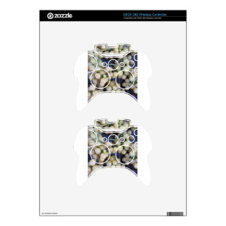 Close-up of ripe grapes in box xbox 360 controller skins