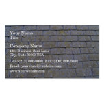 Close-Up Of Roof Tiles With Lichens Business Cards