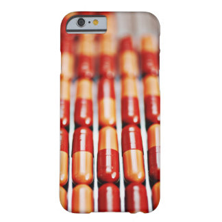 Close up of rows of pill capsules barely there iPhone 6 case