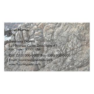 Close-up of Seamless Rock Texture Business Cards