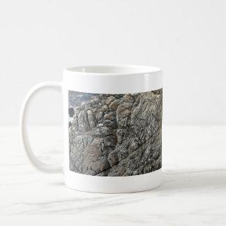 Close-up of Seamless Rock Texture Mugs