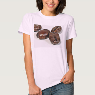 Close Up Of Some Unground Coffee Beans Tee Shirts