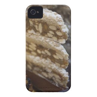 Close up of stack of panforte. This dense, flat iPhone 4 Case-Mate Cases