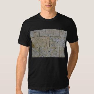 Close Up Of Stone Brick Wall Texture T Shirt