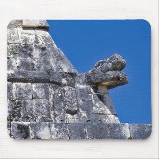 Close up of stones making an ancient Mayan Mouse Pad