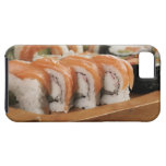 Close-up of sushi in a platter iPhone SE/5/5s case