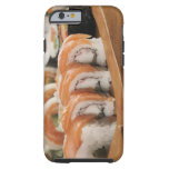 Close-up of sushi in a platter tough iPhone 6 case