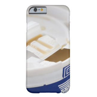 Close up of take out coffee barely there iPhone 6 case